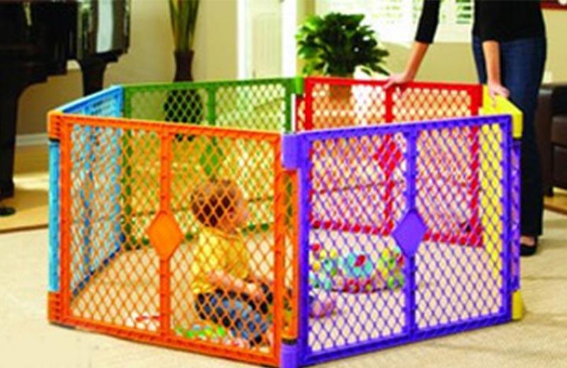 ایمن سازی فضای خانه برای شادی و بازی کودک