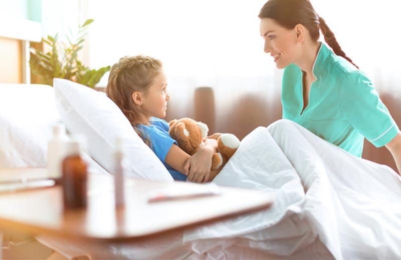 خدمات ارائه شده توسط پرستار کودک در ونک
