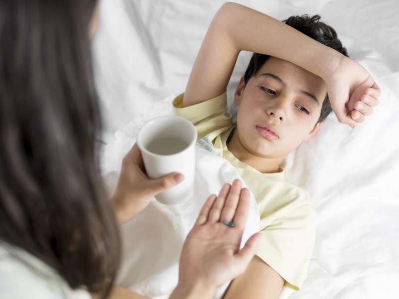 روش نگهداری از کودک بیمار