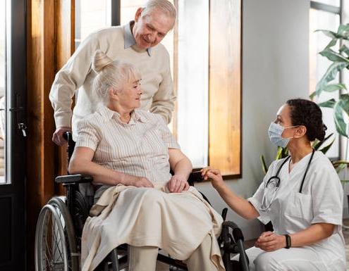 پرستار سالمند در زعفرانیه