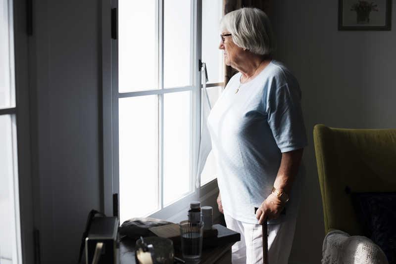عوامل افسردگی سالمندان