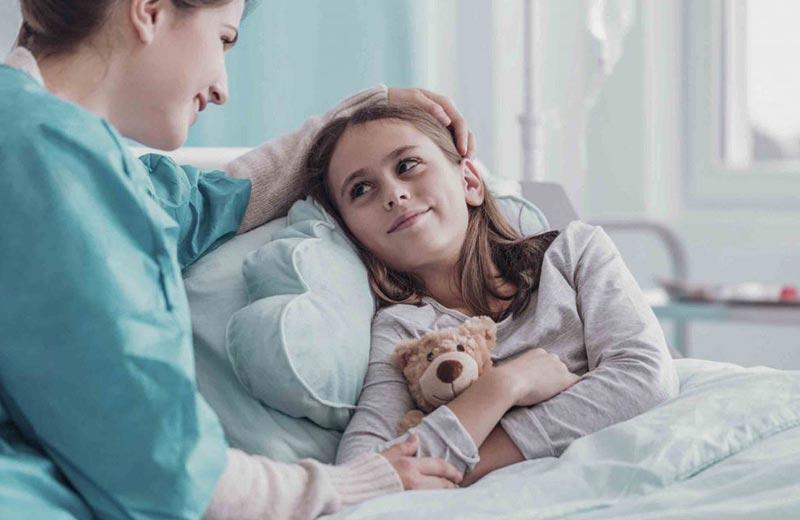 نگهداری از کودک بیمار در منزل