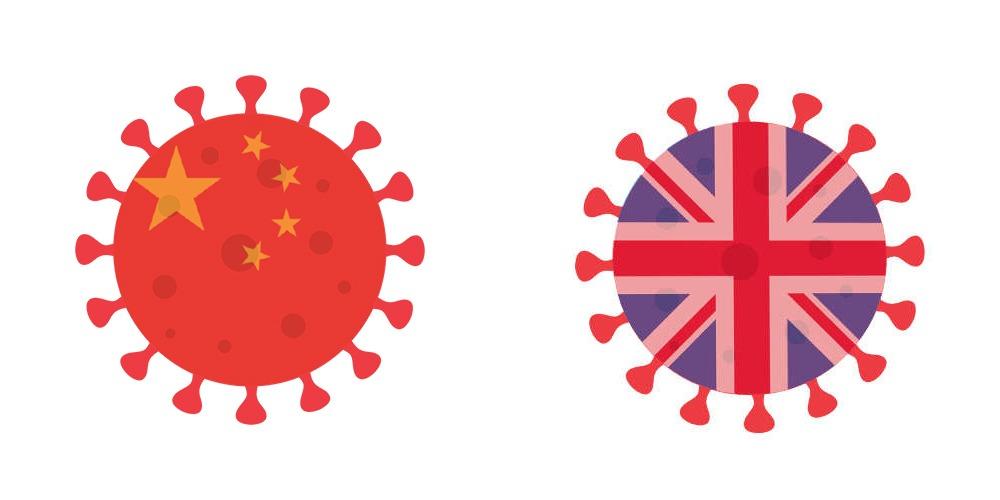 تفاوت کرونای چینی با کرونای انگلیسی