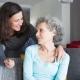 پرستار سالمند در ولی عصر