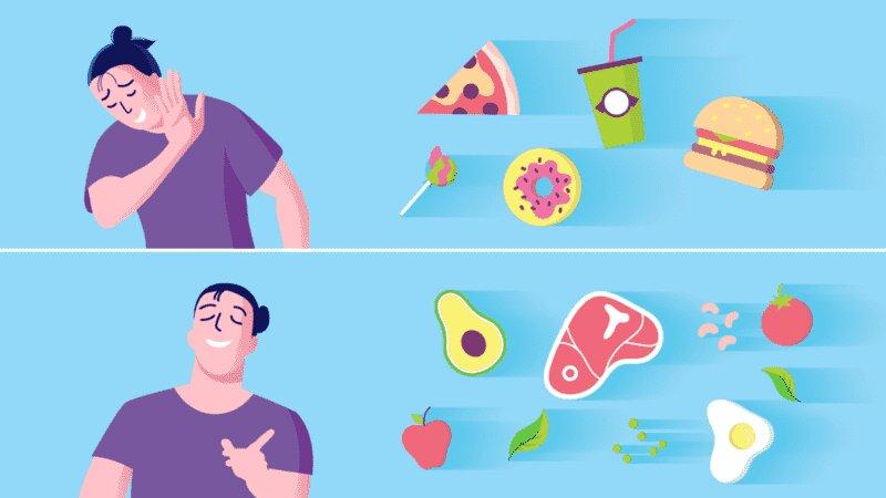 تغییر رژیم غذایی برای جلوگیری از سکته مغزی
