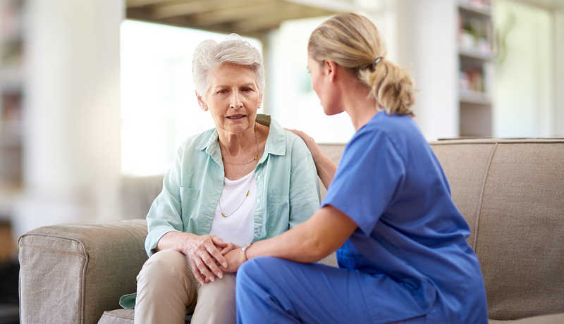 پرستار سالمند در اندرزگو