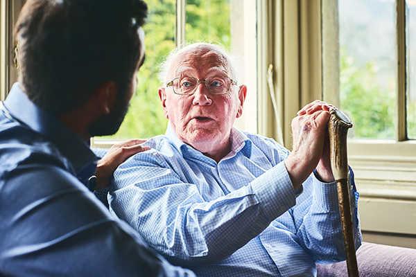 کاهش قدرت تکلم در آلزایمر