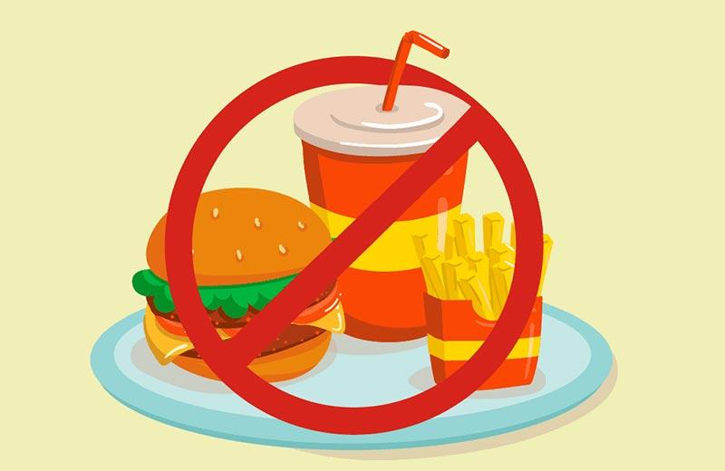 پرهیز از خوردن غذاهای ناسالم برای جلوگیری از ابتلا به فشار خون