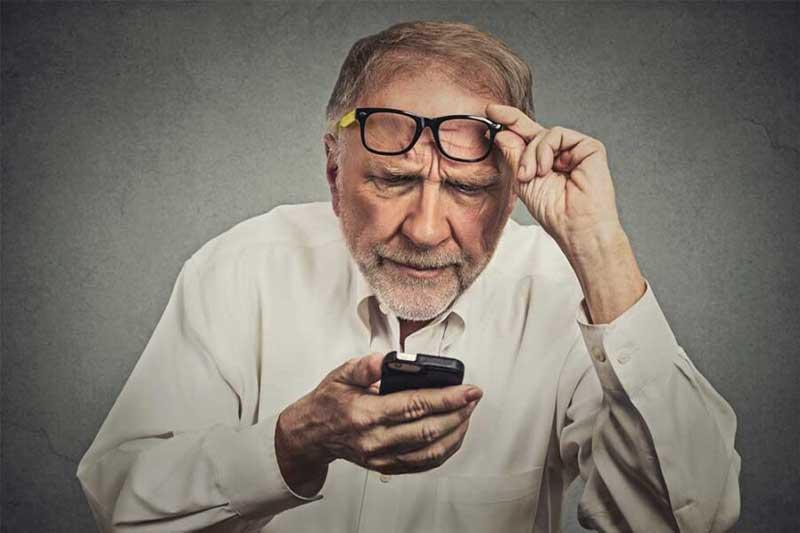 استرس در سالمنداان