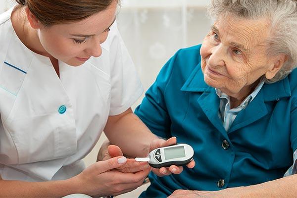 پرستاری از سالمند مبتلا به دیابت