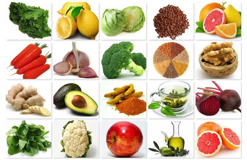 مصرف خوراکی های مفید برای درمان بیماری کبد چرب