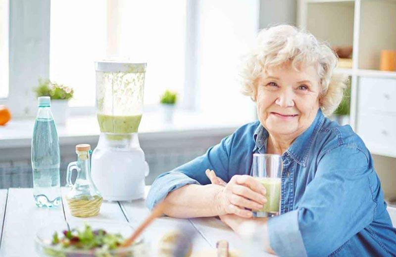 اصلاح رژیم غذایی در سالمندان