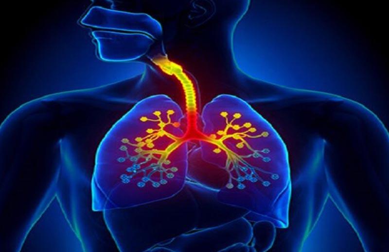 درگیری بخش فوقانی دستگاه تنفسی