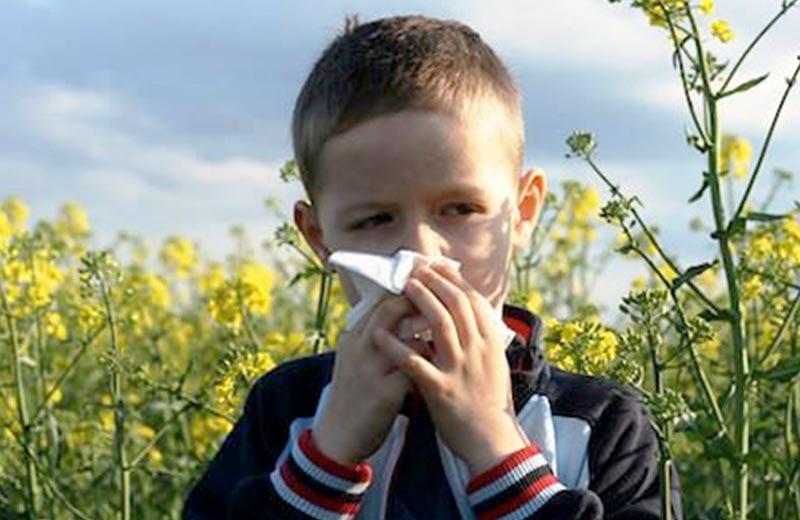 دوری از محیط های آلرژی زا