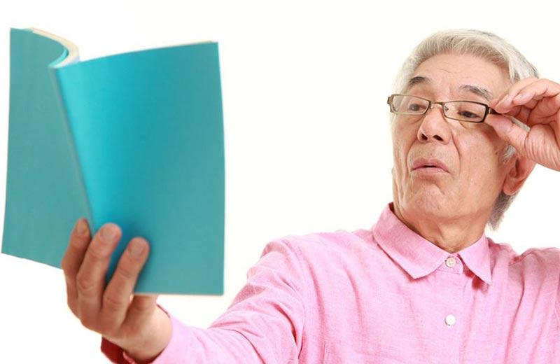 پیر چشمی در سالمندان